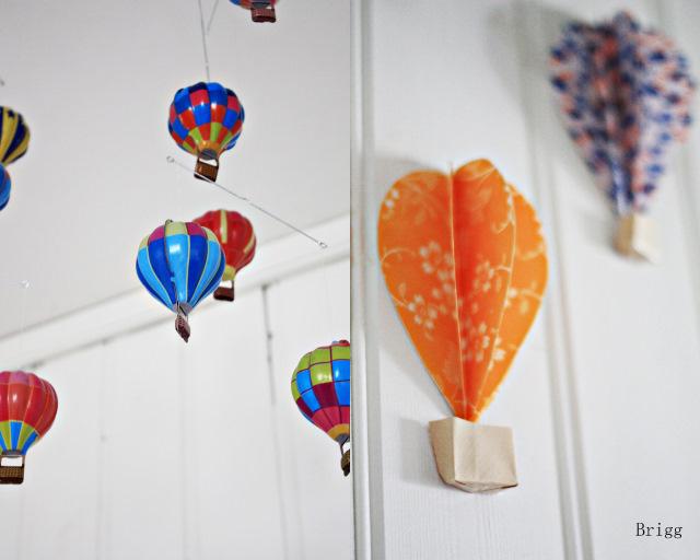 Baby deco diy globos de aire de papel para decorar las - Globos para decorar ...