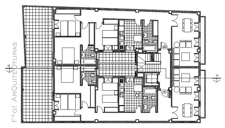 F g arquitecta valencia junio 2011 for Viviendas de dos plantas