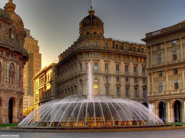 Генуя - главная площадь города