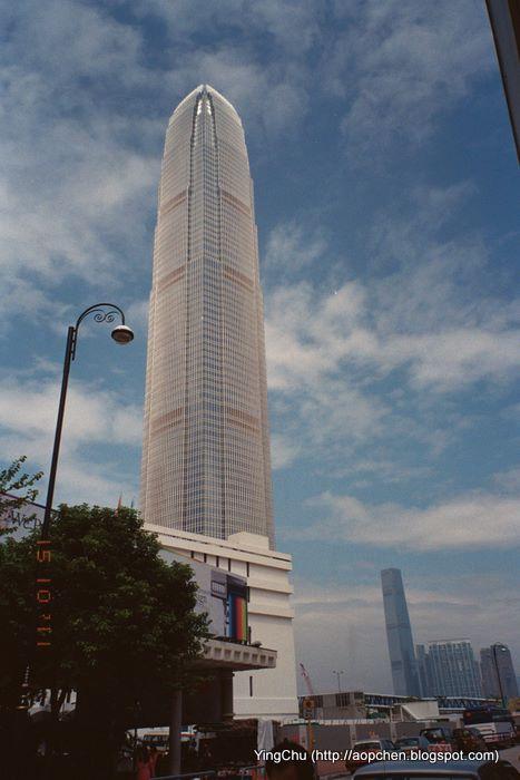 從大會堂這拍國際金融中心