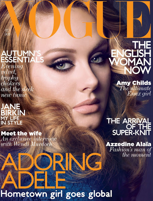 Capa Vogue, Capa Vogue UK, Adele capa Vogue, Adele na Vogue, Adele, Vogue, Revista vogue, Vogue magazine,