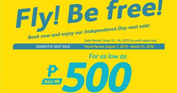 Cebu Pacific Promo Fares 2020 to 2021: Happy Independence