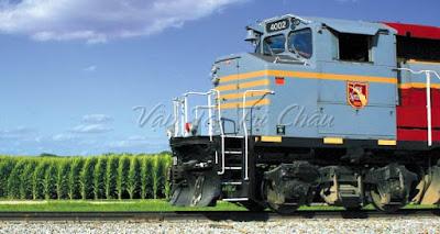 Sự phát triển vận tải đường sắt của Hoa Kỳ