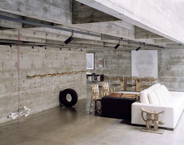 Heteruf Designs: Decoración y diseño con paredes estilo concreto