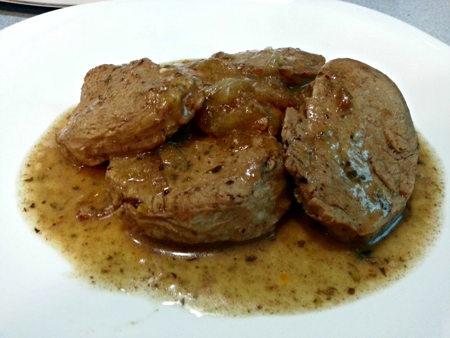 Cocinando con simpatiaa solomillo de cerdo encebollado - Solomillo de cerdo encebollado ...