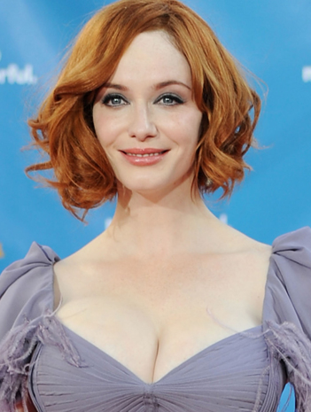 The Beautiful Christina Hendricks Demonstrates How Shorter Hair Can Be