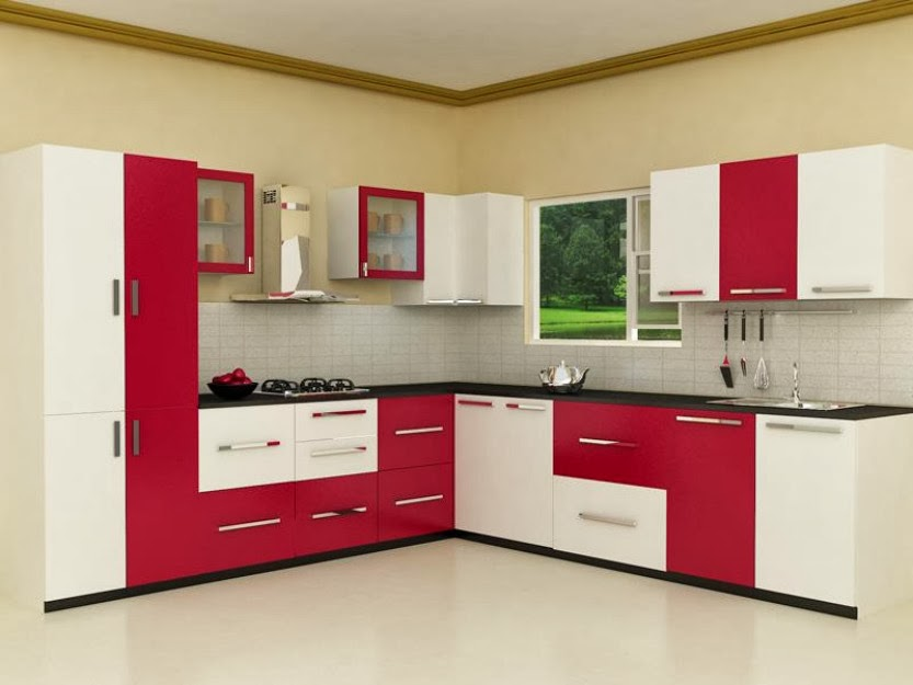 modular kitchen designs l shape