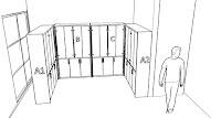 furniture semarang Lemari Dokumen Kantor Pintu Kaca - Filing Cabinet