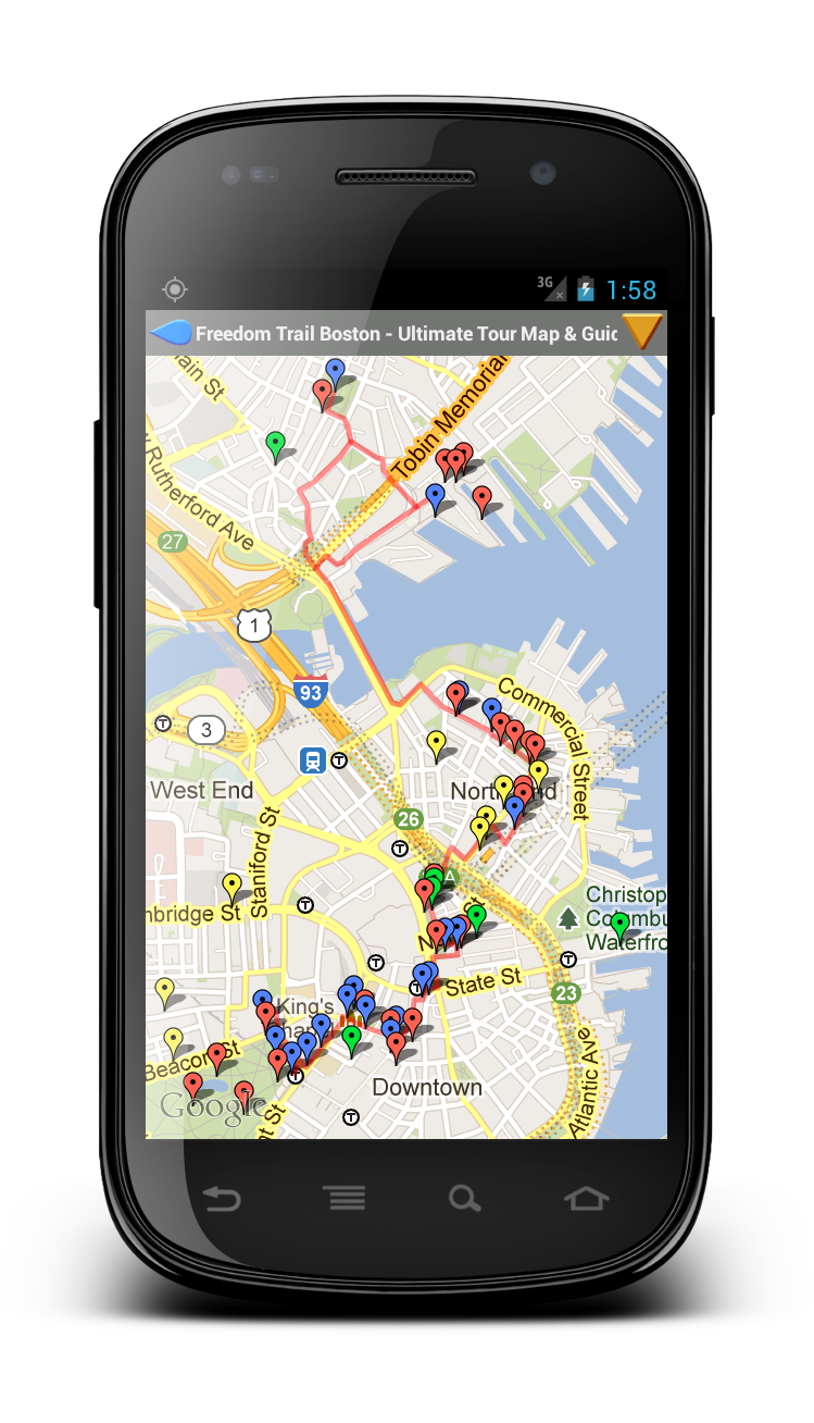 Mobile Apps By Mapocosm Map Explorer