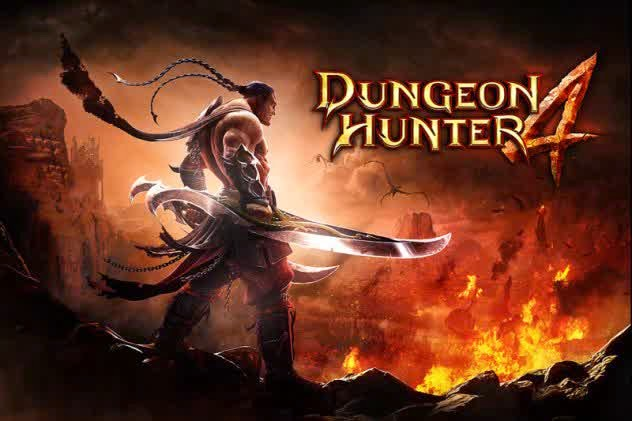 Download Mod Game Dungeon Hunter 4 Apk [Unlimited Money]