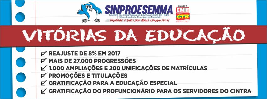 SINDICATO DOS TRABALHADORES EM EDUCAÇÃO BÁSICA PÚBLICA NO ESTADO DO MARANHÃO - SINPROESEMMA