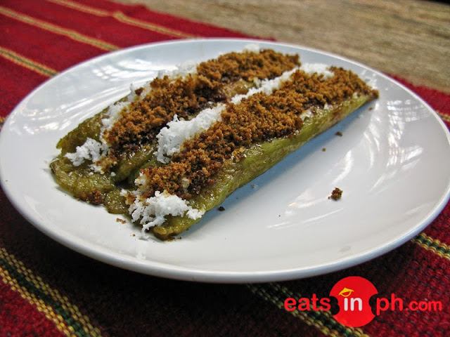 Suman sa Lihia from Chocolate de Batirol at Camp John Hay, Baguio City