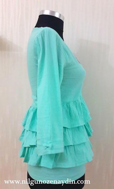 www.nilgunozenaydin.com-fırfırlı bluz-bluz dikimi-bluz modelleri-farklı bluz modelleri-cam göbeği bluz