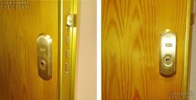 cambio bombines seguridad puertas blindadas