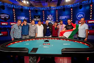 The final nine -- a.k.a. the 'Octo-Nine' -- in the 2012 WSOP Main Event
