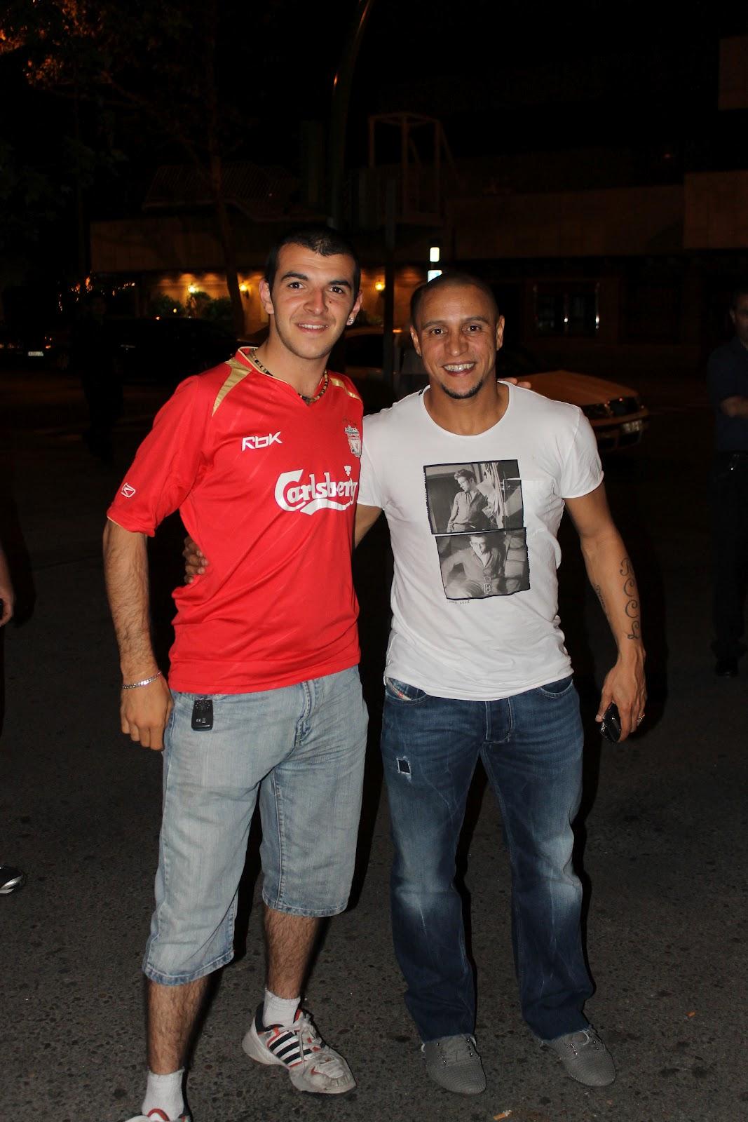¿Cuánto mide Dani Fotos? (Danifotos) Roberto+Carlos