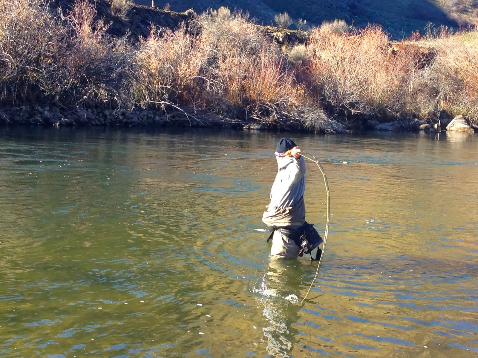 Erik s fly fishing blog sacrifice to the fish gods for Hank patterson fly fishing