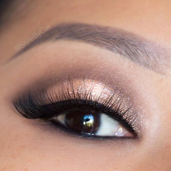 Style By Cat Soft Rose Gold Smokey Eye Tutorial
