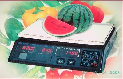 Timbangan Digital Industri Timbangan Buah Digital Fruit