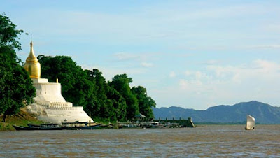 Irrawaddy River Bagan & Pagoda
