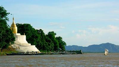 Irrawaddy River Bagan & Pagoda