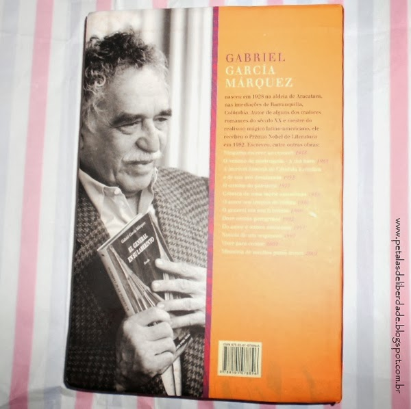 Contracapa Cem anos de solidão - Gabriel García Márquez
