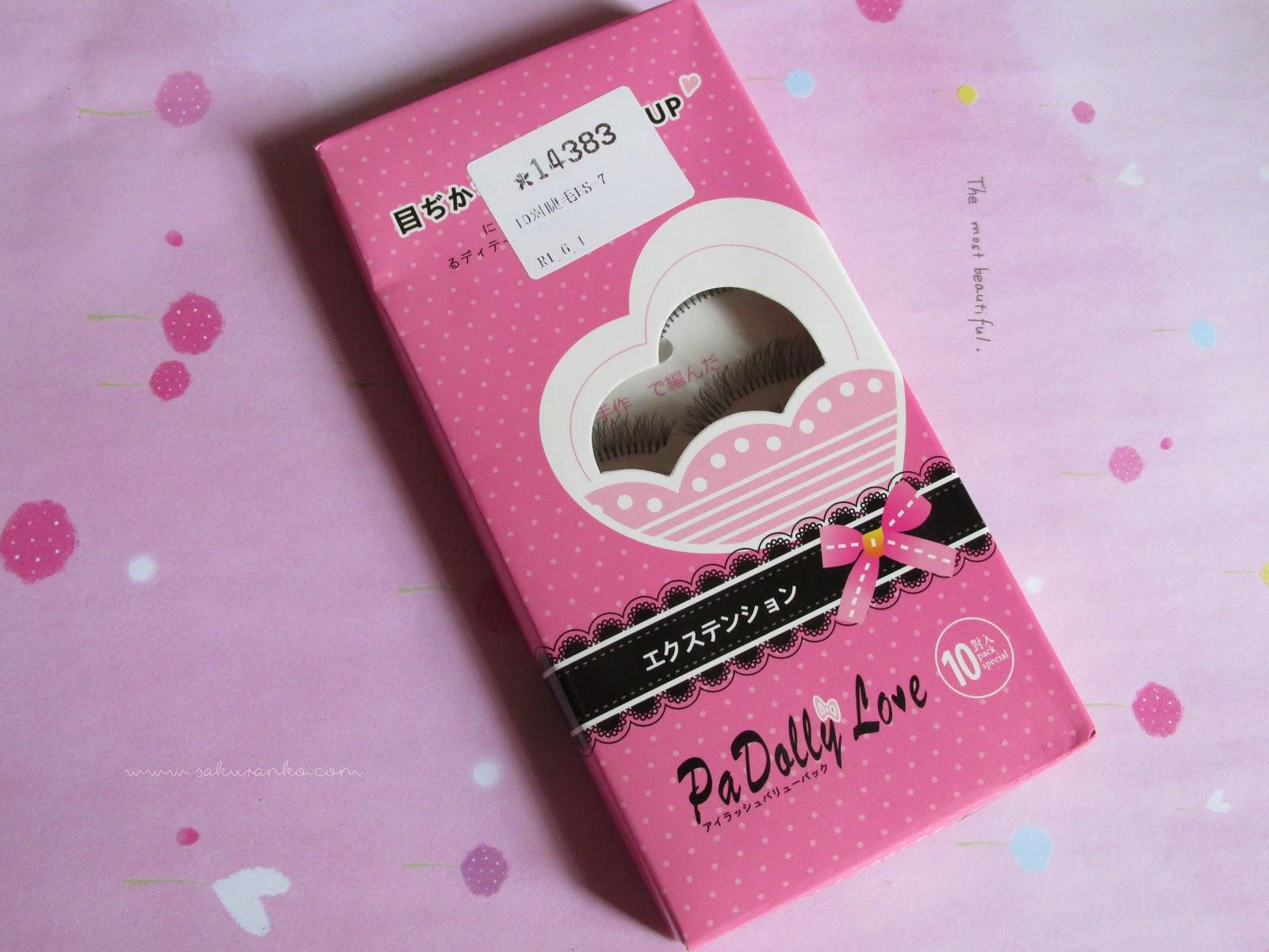 Sakuranko Pa Dolly Love Eyelashes