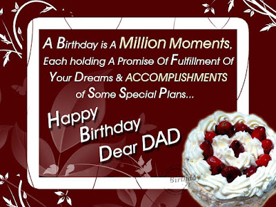 Happy Birthday Greetings For Father