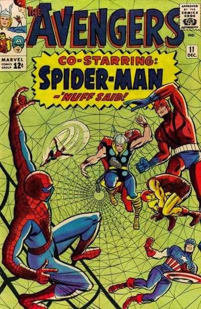 Avengers #11, Spider-Man