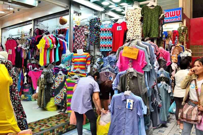 Khu mua sắm Pratunam