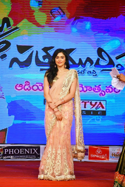 Adah Sharma Stills At Son Satyamurthy Movie Audio Success Meet