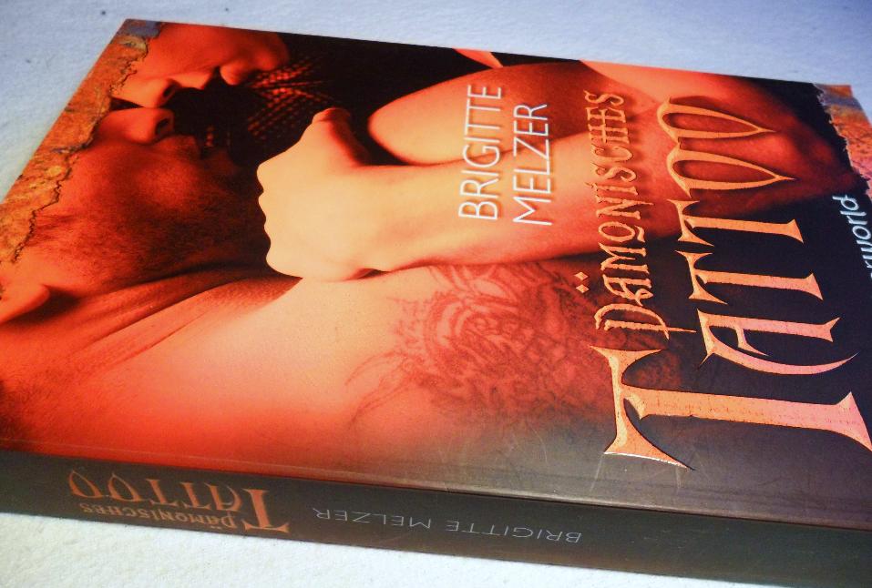 """Cover vom Buch """"Daemonisches Tattoo"""" von Brigitte Melzer"""
