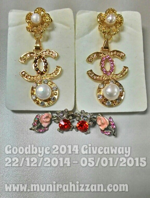 Goodbye 2014 Giveaway Di Munirahizzan.com