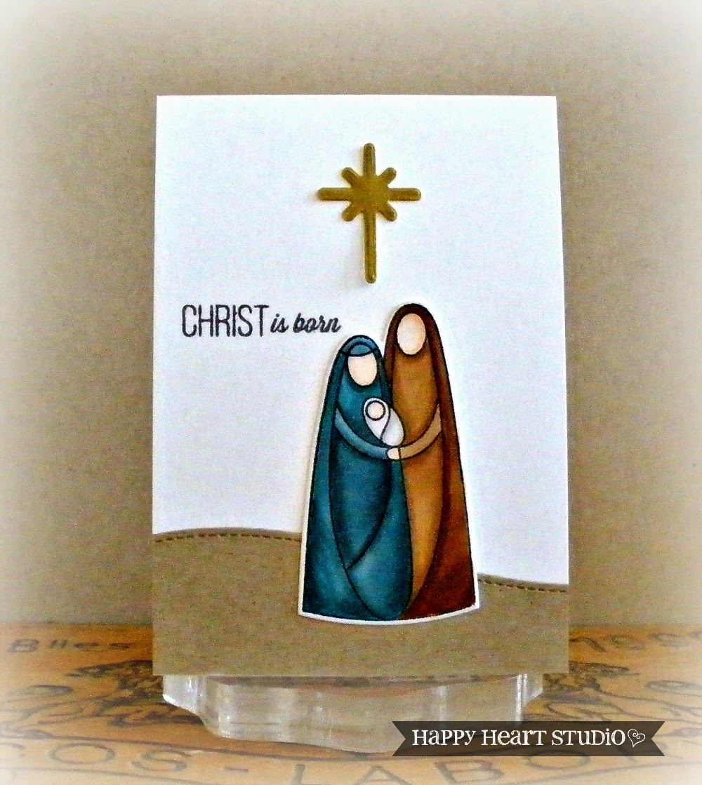 im so glad i got the simon says stamp nativity stamp and die set i just love how perfect it is for making simple but meaningful christmas cards - Nativity Christmas Cards