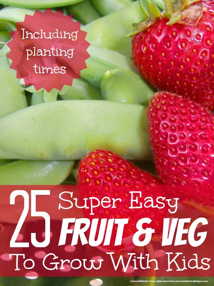 Fruit and Veg to grow with kids