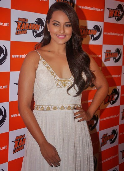 Sonakshi Sinha at the announcement of her association with World Kabaddi League (WKL)