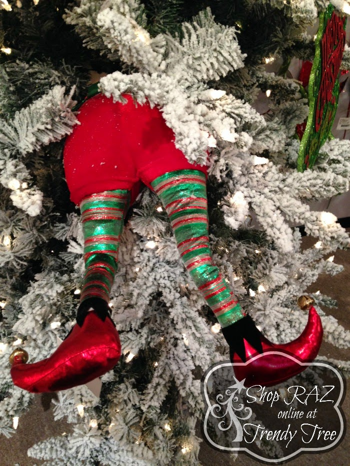 RAZ Elf Butt and Legs at Trendy Tree