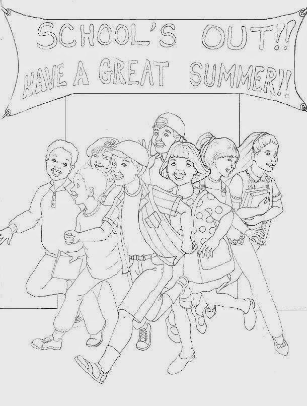 Ordinaire Last Day Of School Coloring Pages For Kids 1