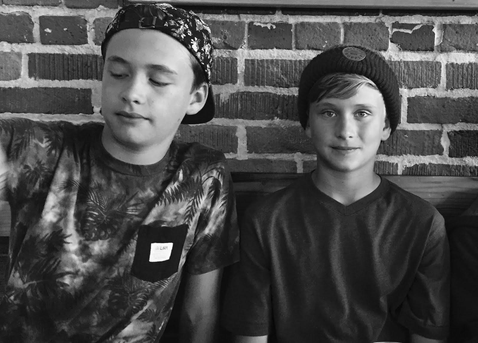 Ethan and Wyatt