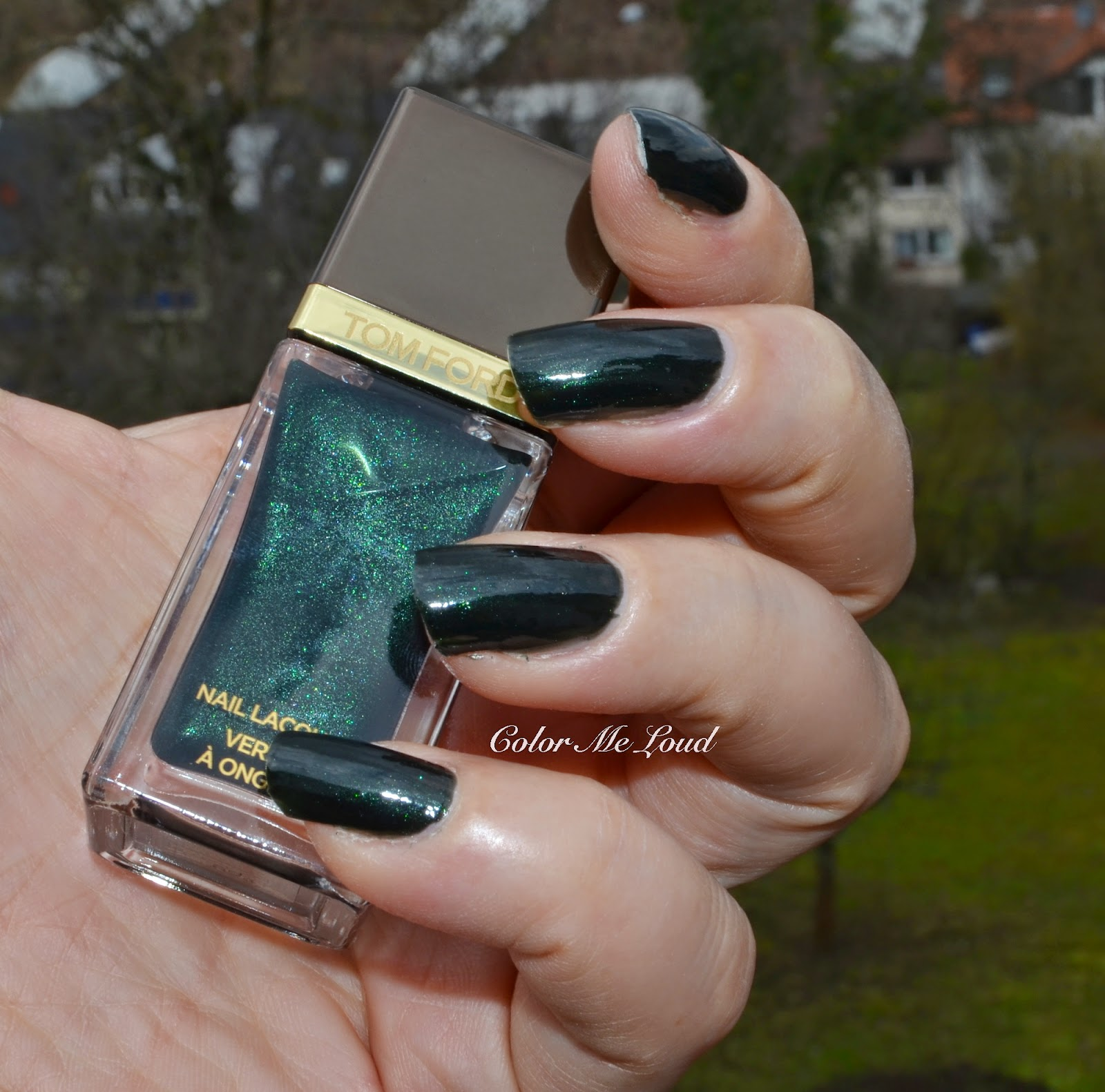 Tom Ford Nail Polish #33 Black Jade, #34 Indigo Night, Swatches ...