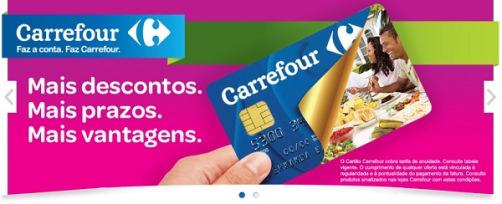 Boleto Carrefour segunda via