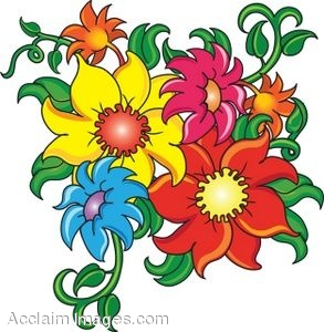 Images Of Cartoon Flowers Mobile Wallpapers