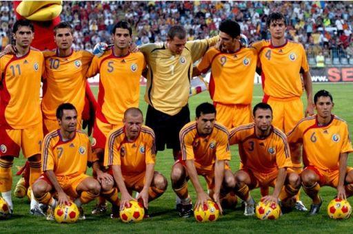 Romanian Soccer Team Romanians