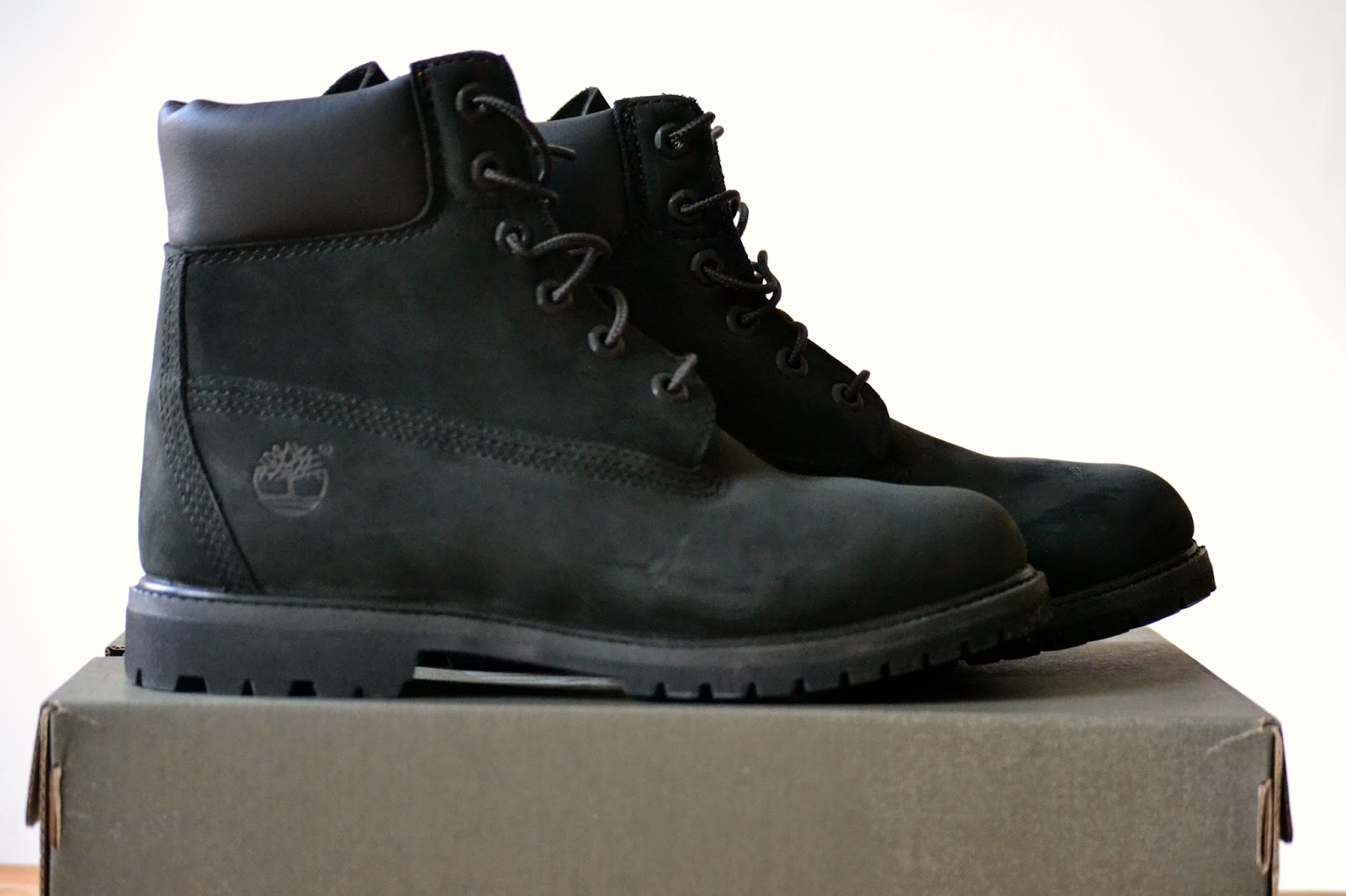 Fashion Black Suede Timbs Steve Charlie