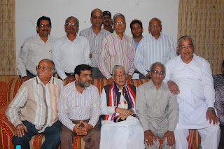 dr. murli manohar joshi with jyoti kothari and others at malpura dadabadi