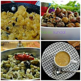 Navarathri prasad/neivedhyam recipes