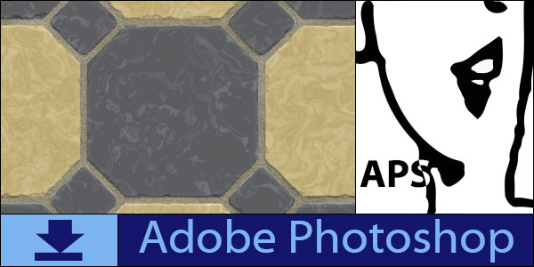 Free Classic Floor Patterns for Adobe Photoshop