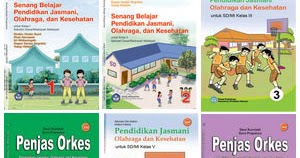 Buku Sekolah Penjasorkes Sd Kelas 1 6 Kawan Cerdas