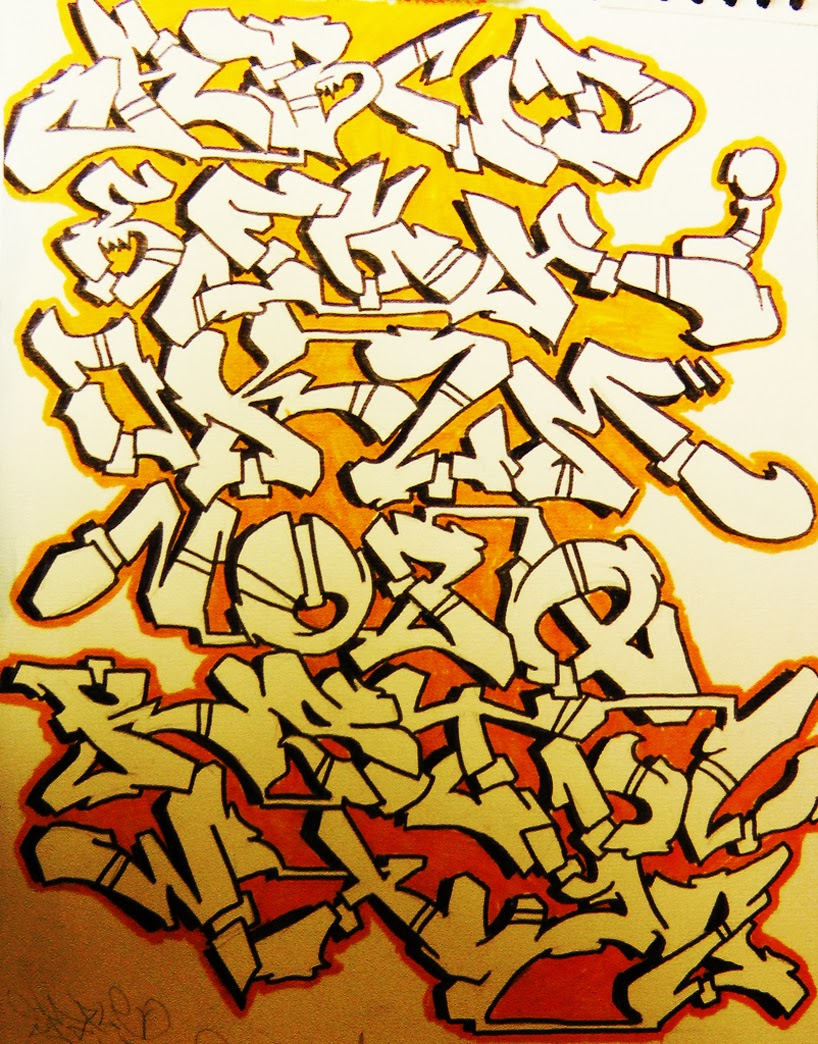 Graffiti Wall Graffiti Alphabets