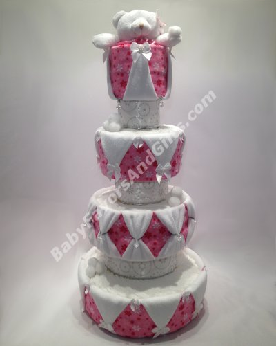Unique diaper cakes baby shower gifts centerpieces